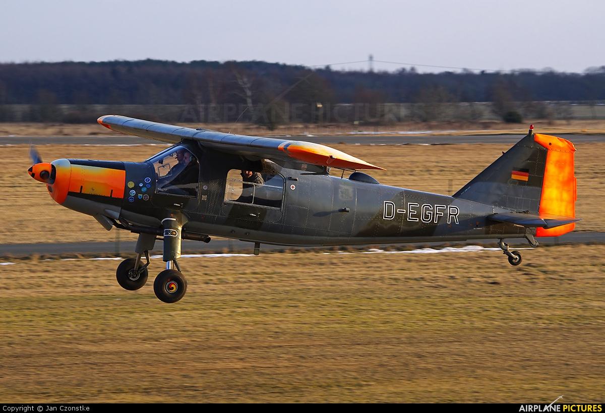Sportfluggruppe Nordholz/Cuxhaven D-EGFR aircraft at Nordholz-Spieka