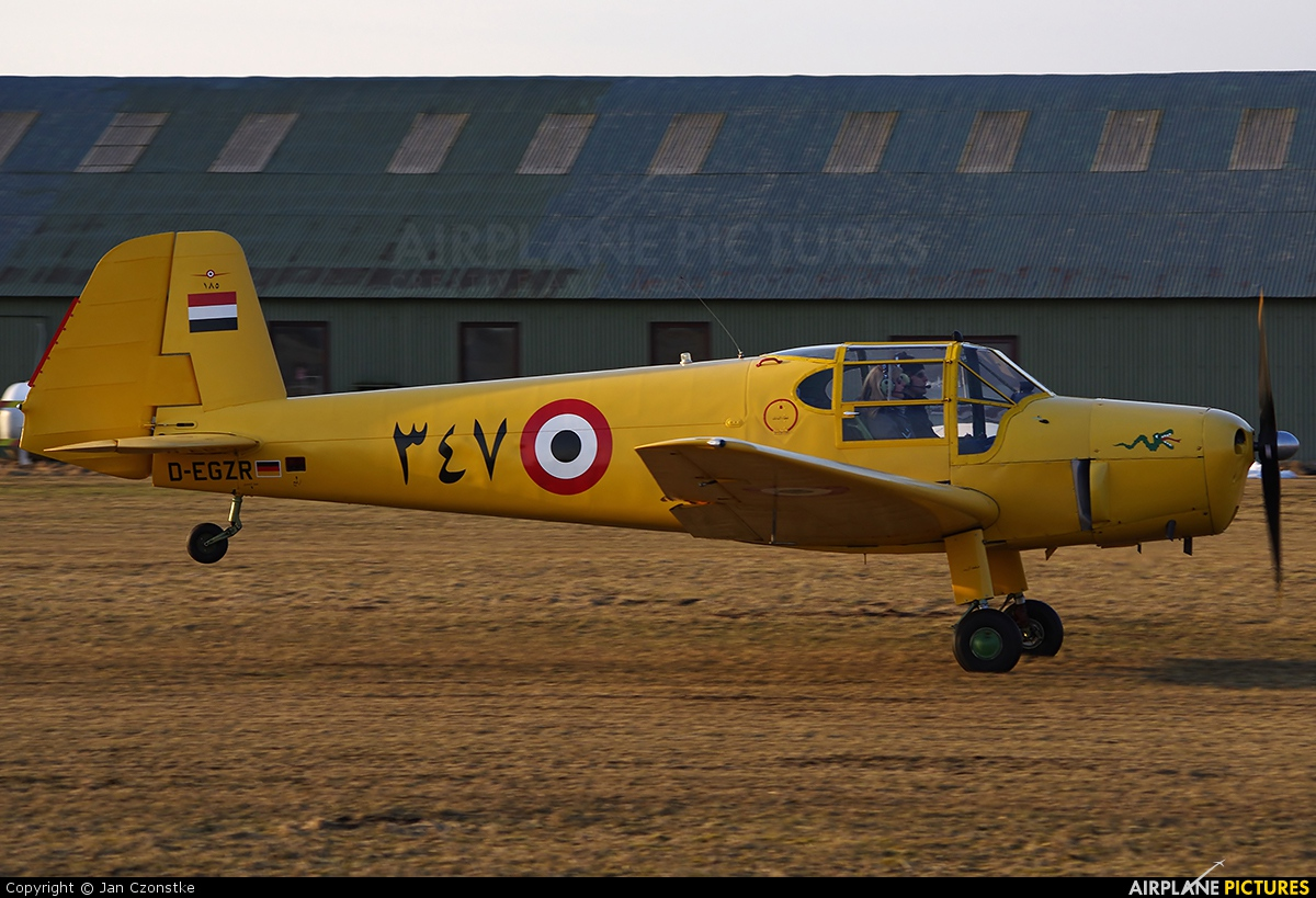 Sportfluggruppe Nordholz/Cuxhaven D-EGZR aircraft at Nordholz-Spieka