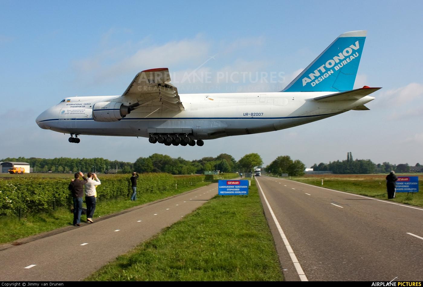Antonov Airlines /  Design Bureau UR-82007 aircraft at Gilze-Rijen