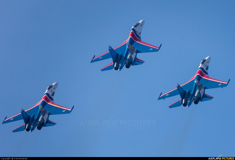 """Russia - Air Force """"Russian Knights"""" 20 aircraft at Kubinka"""