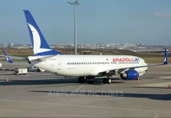 TC-SAJ - AnadoluJet Boeing 737-800