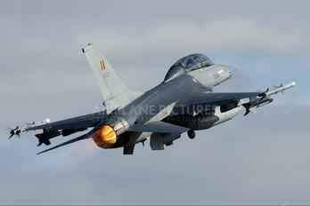 FB-22 - Belgium - Air Force General Dynamics F-16B Fighting Falcon