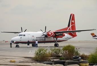 EP-FQA - Qeshm Airlines Fokker 50