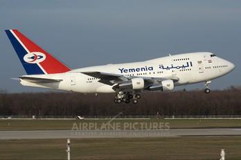 7O-YMN - Yemenia - Yemen Airways Boeing 747SP
