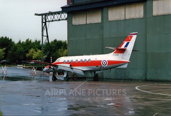 XX493 - Royal Air Force Scottish Aviation Jetstream T.1
