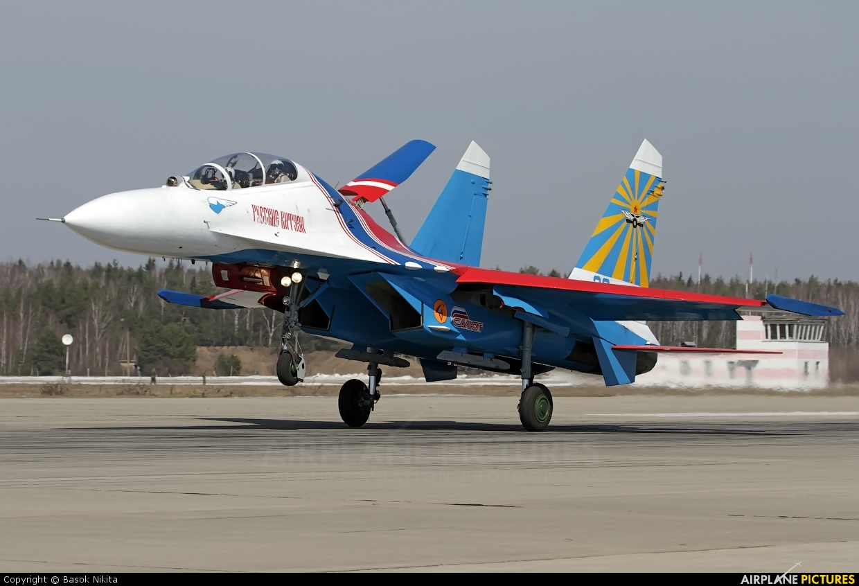 "Russia - Air Force ""Russian Knights"" 20 aircraft at Kubinka"