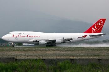 D-ACGB - Air Cargo Germany Boeing 747-400BCF, SF, BDSF