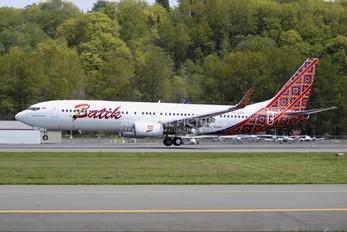 PK-LBH - Batik Air Boeing 737-900ER