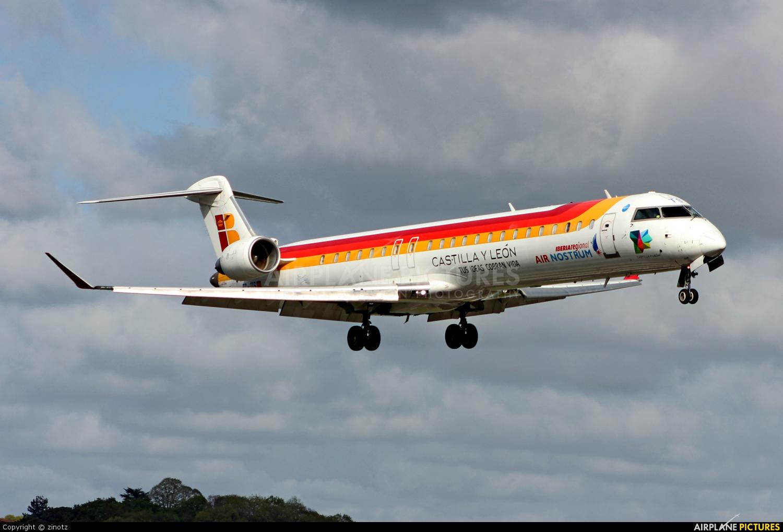 Air Nostrum - Iberia Regional EC-JTS aircraft at San Sebastian
