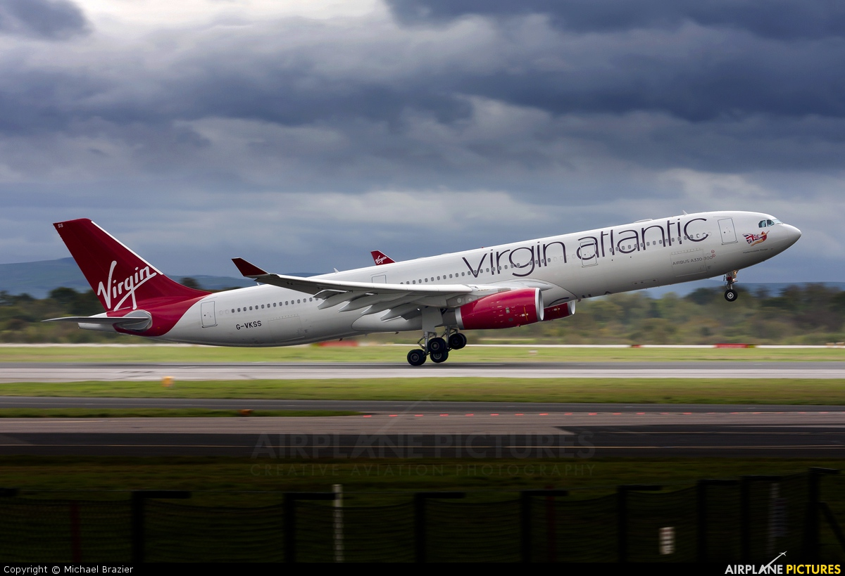 virgin atlantic airbus photo
