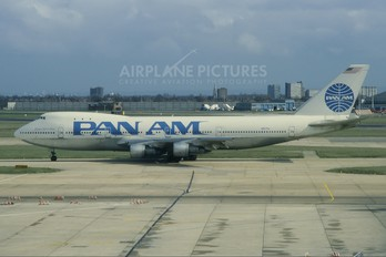 N657PA - Pan Am Boeing 747-100
