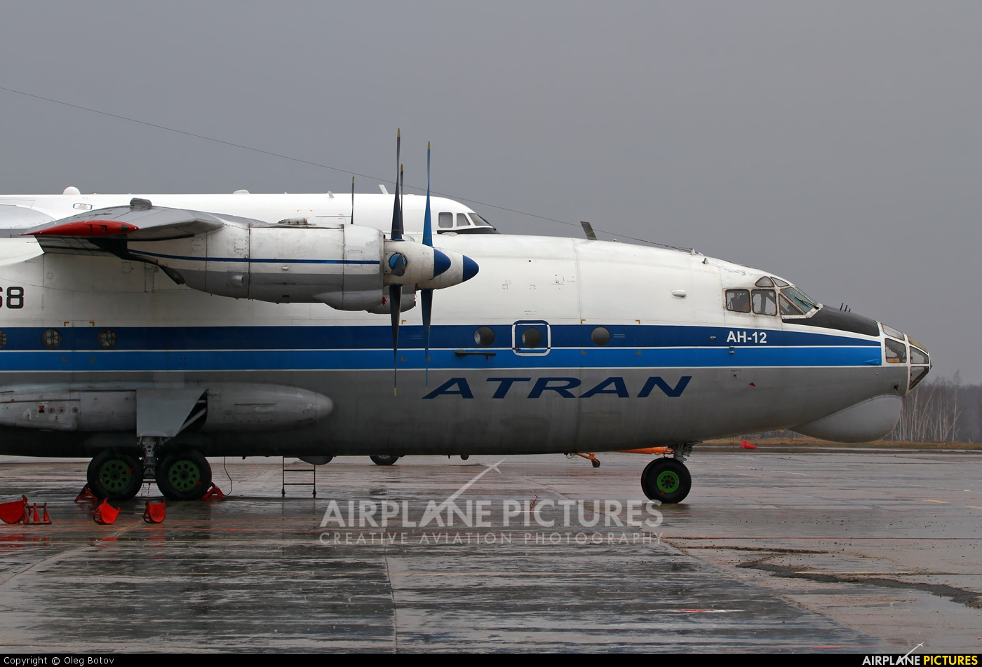 Atran RA-11868 aircraft at Moscow - Domodedovo