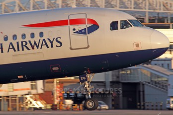 G-EUXG - British Airways Airbus A321