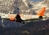 G-EZDN - easyJet Airbus A319 aircraft