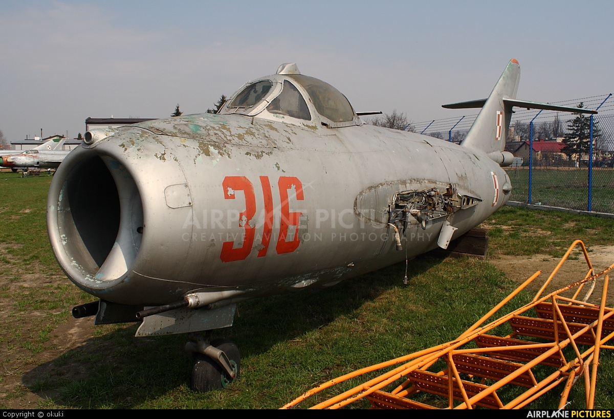 Poland - Navy 316 aircraft at Dęblin - Museum of Polish Air Force