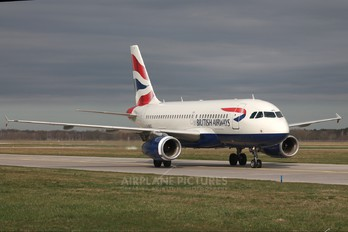 G-DBCE - British Airways Airbus A319