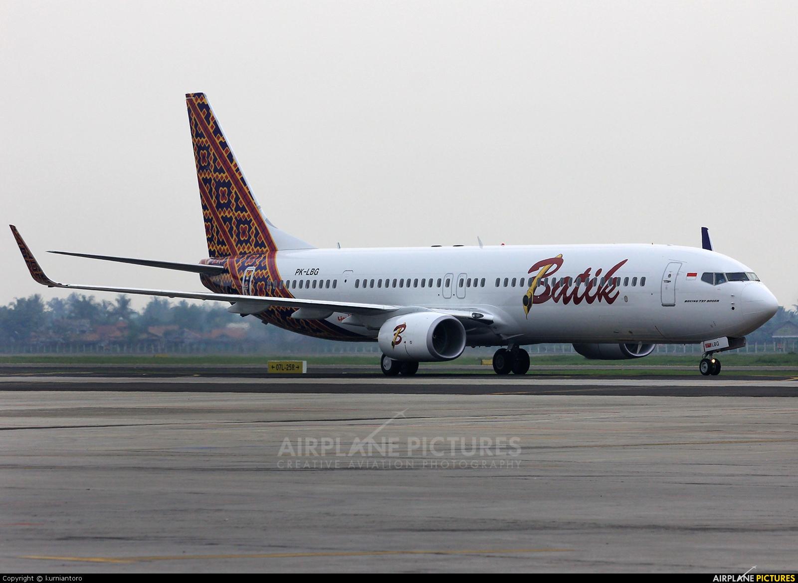 Batik Air PK-LBG aircraft at Jakarta - Soekarno-Hatta Intl