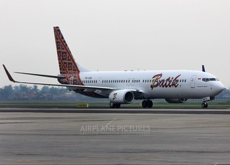 PK-LBG - Batik Air Boeing 737-900ER