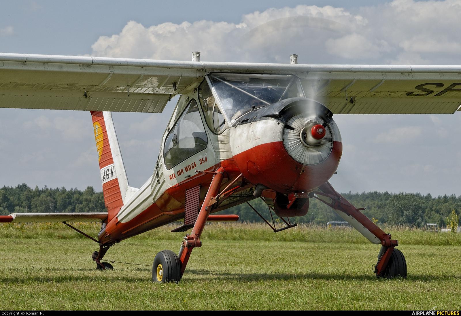 Aeroklub Bydgoski SP-AGV aircraft at Bydgoszcz - Szwederowo