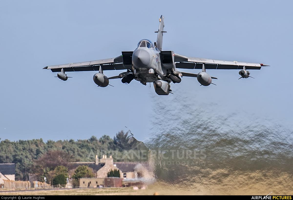 Royal Air Force ZA546 aircraft at Lossiemouth
