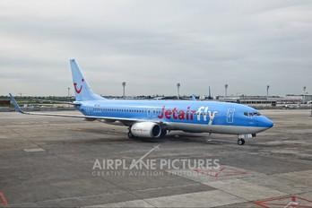 OO-JBV - Jetairfly (TUI Airlines Belgium) Boeing 737-800