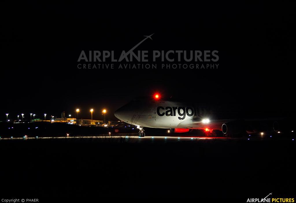 Cargolux LX-VCV aircraft at Petrolina