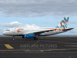 N812BR - IZair Airbus A319