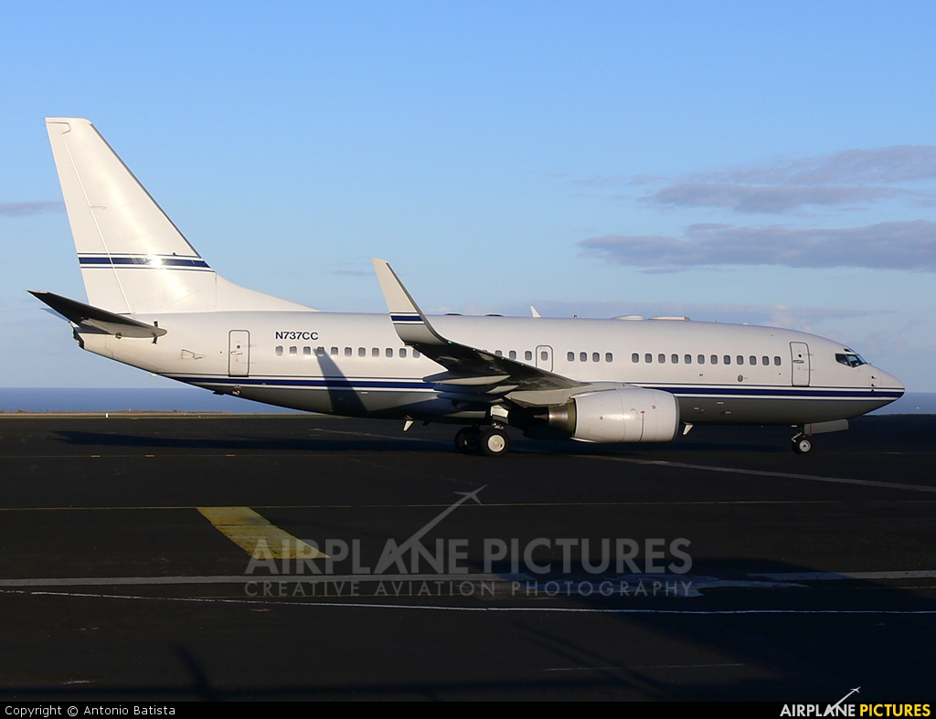 Mid East Jet N737CC aircraft at Azores - Santa Maria