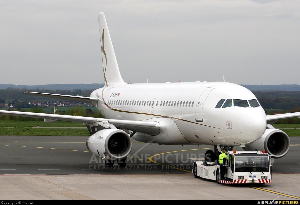 DC Aviation D-ADNA aircraft at Dortmund - Wickede