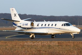 LX-NAT - Luxaviation Cessna 560XL Citation XLS
