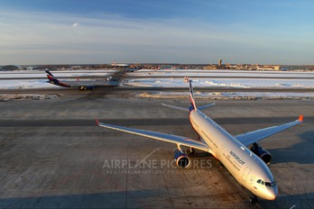 VQ-BCU - Aeroflot Airbus A330-300