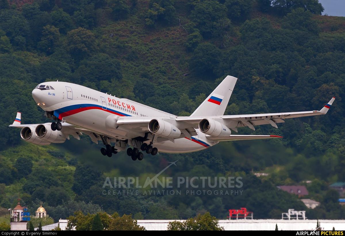 Rossiya RA-96012 aircraft at Sochi Intl