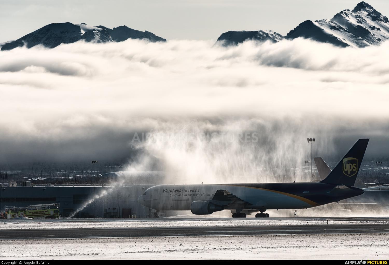 UPS - United Parcel Service N310UP aircraft at Anchorage - Ted Stevens Intl / Kulis Air National Guard Base