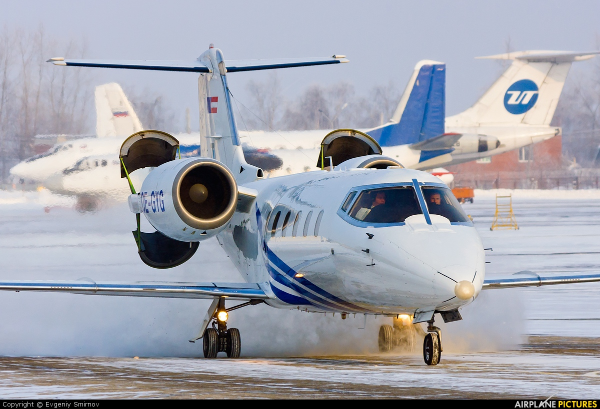 Private OE-GYG aircraft at Syktyvkar
