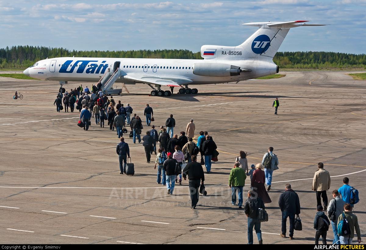 UTair RA-85056 aircraft at Ukhta