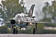 28 - Bulgaria - Air Force Mikoyan-Gurevich MiG-21UM aircraft