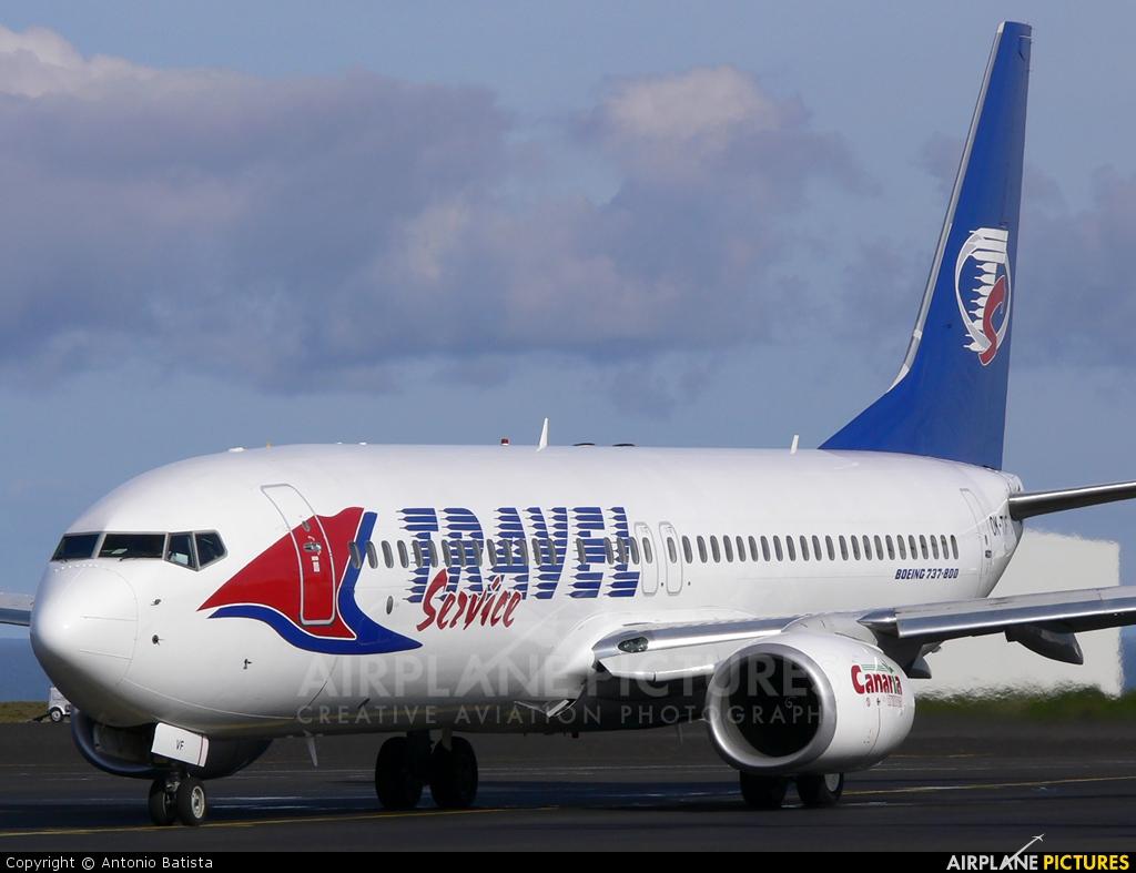 Travel Service OK-TVF aircraft at Azores - Santa Maria