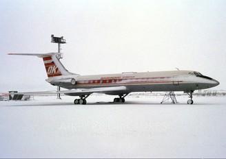OK-CFF - CSA - Czechoslovak Airlines Tupolev Tu-134A