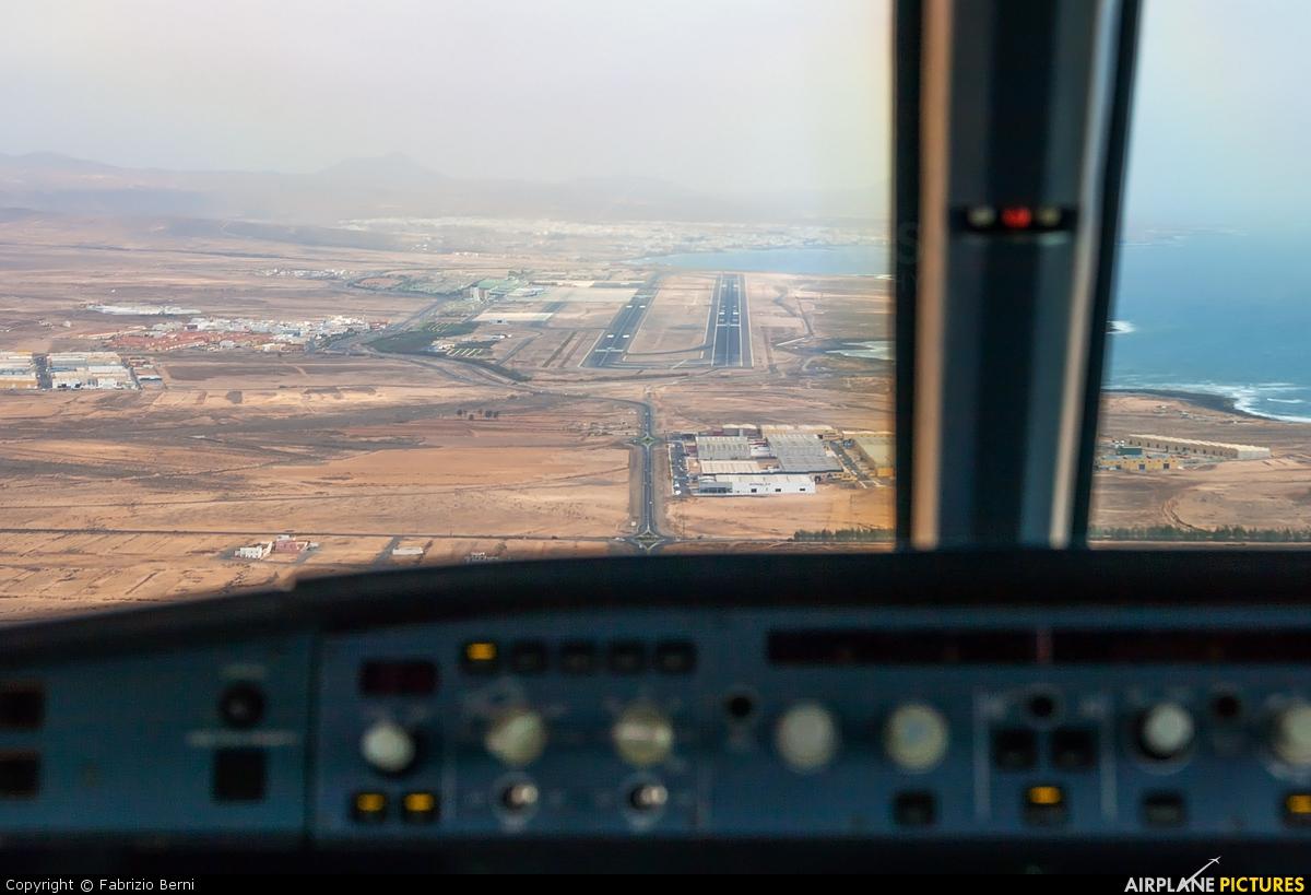 Eurofly I-EEZI aircraft at Fuerteventura - Puerto del Rosario