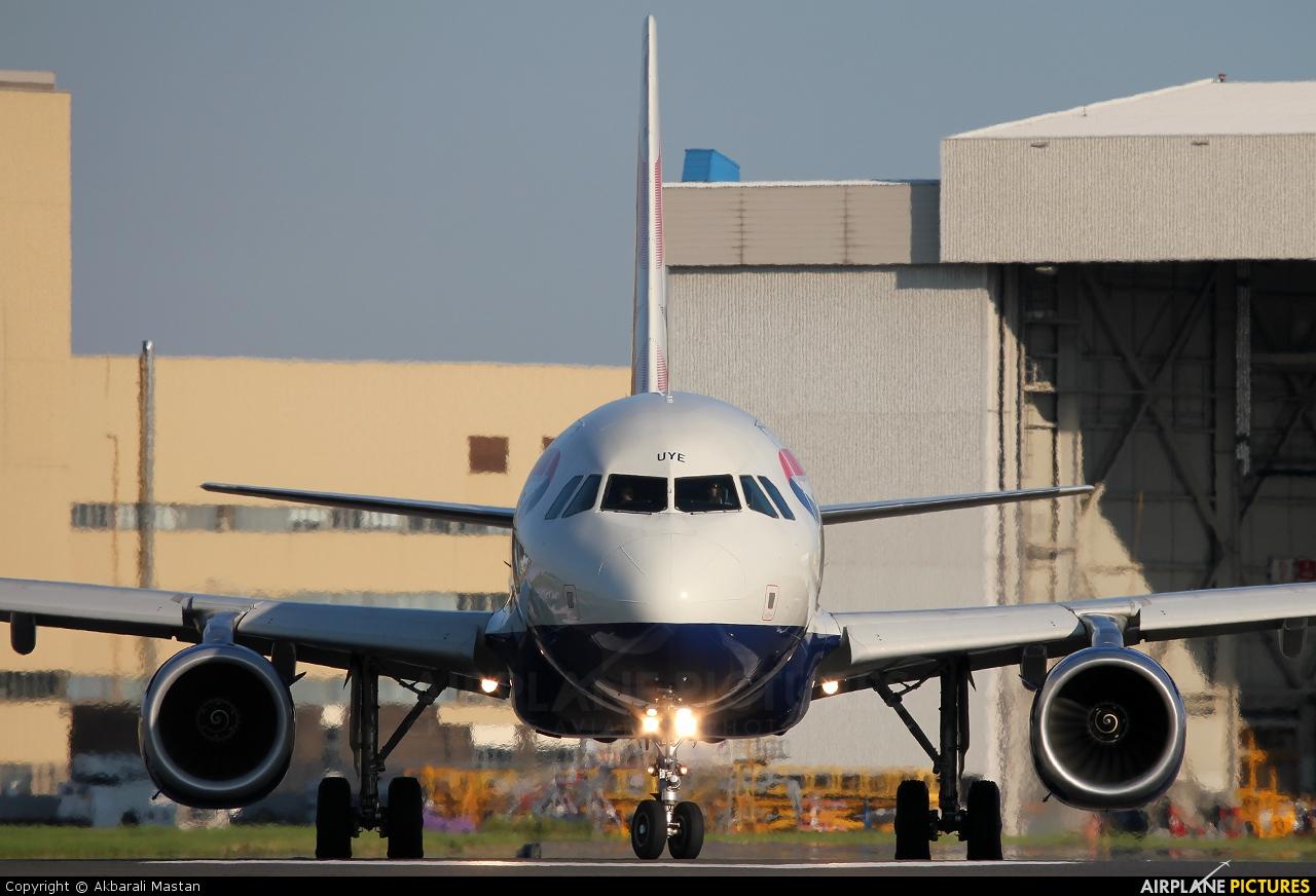 British Airways G-EUYE aircraft at London - Heathrow