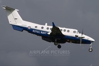 ZZ503 - Royal Navy Beechcraft 300 Avenger T.1