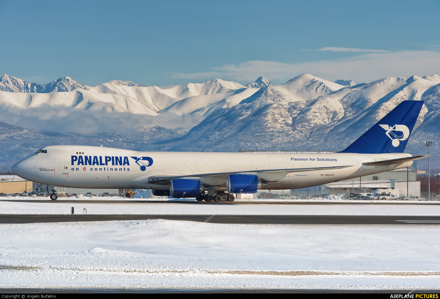 N851GT - Atlas Air Boeing 747-8F at Anchorage - Ted ...