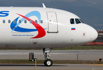 VP-BCZ - Ural Airlines Airbus A320