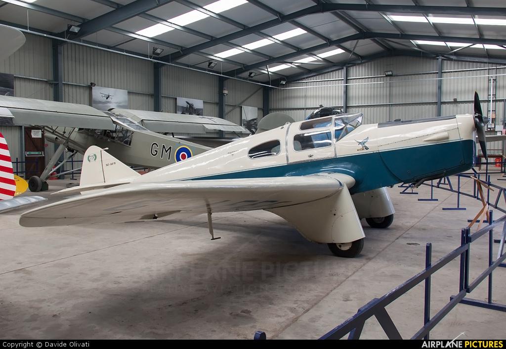 Private G-AEEG aircraft at Old Warden
