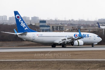 C-GDGT - CanJet Airlines Boeing 737-800