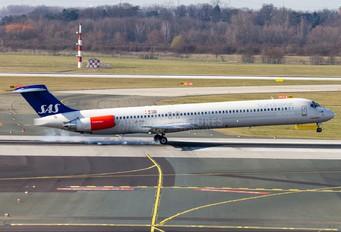 LN-RMR - SAS - Scandinavian Airlines McDonnell Douglas MD-81