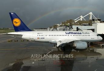 D-AKNG - Lufthansa Italia Airbus A319