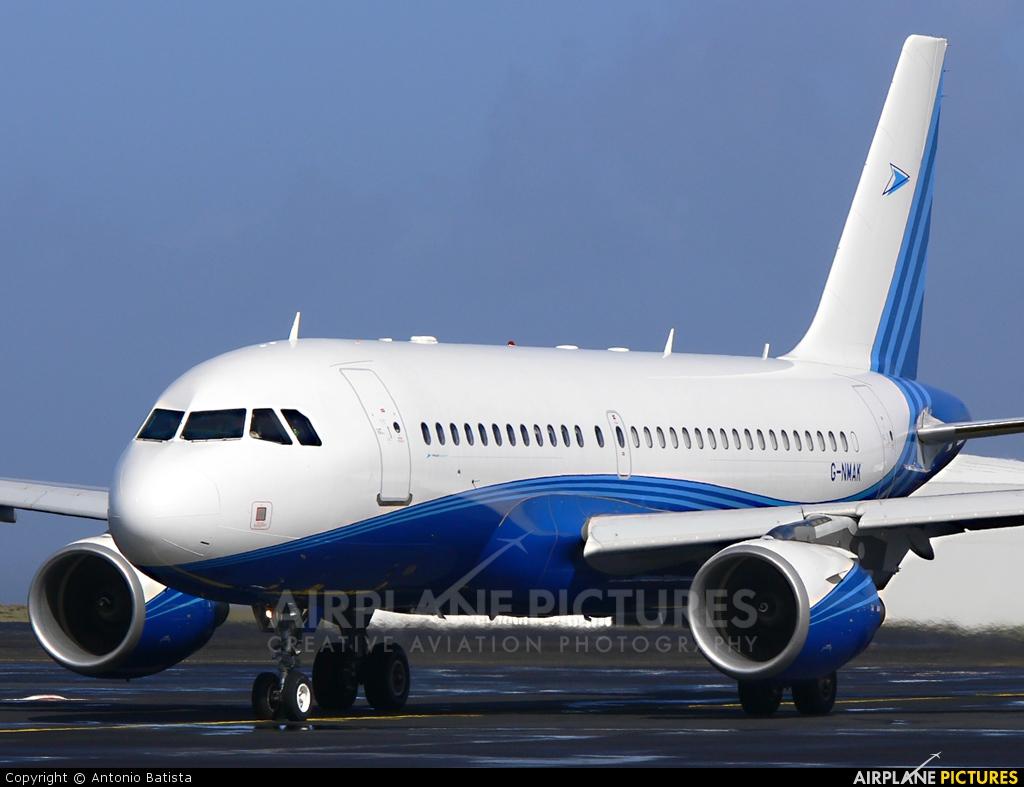 Twin Jet G-NMAK aircraft at Azores - Santa Maria