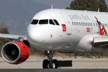 D-ASTA - Gambia Bird Airbus A319