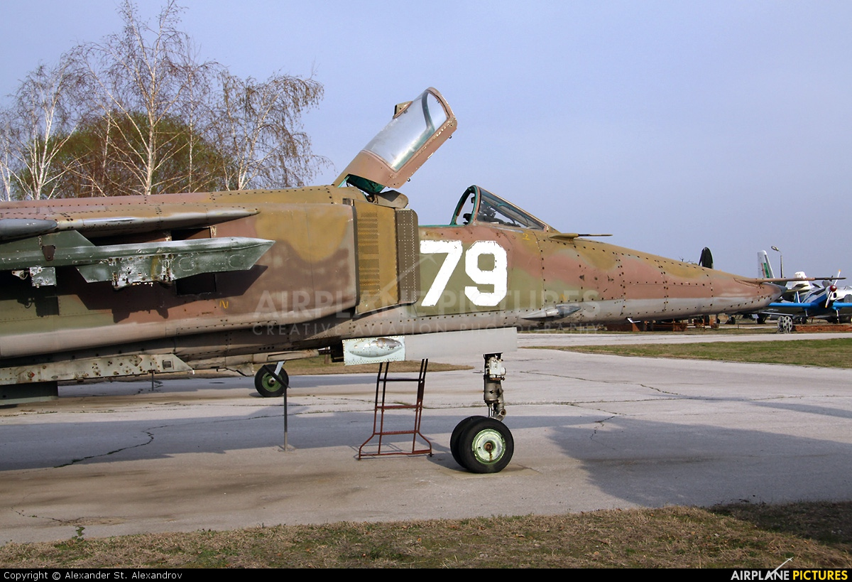 Bulgaria - Air Force 79 aircraft at Plovdiv - Krumovo/Museum of Bulgarian Aviation